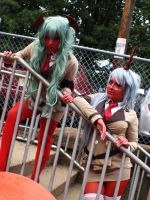 Scanty and Kneesocks IV by RaquelQuiros