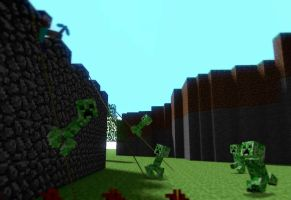 attack of the creepers by boringcabage