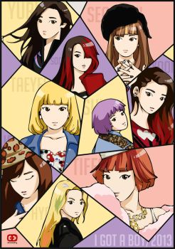 I GOT A BOY fanart by anosa228