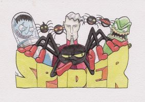 07 Spider by cart00nlion