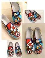 ASDFGJLKJK SHOES by artsyfartsyness