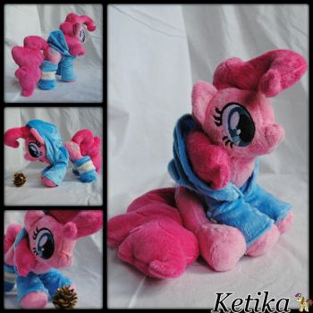 Pinkie Pie plush by KetikaCraft