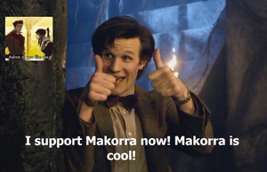 The Doctor Supports Makorra by Living4Christ11