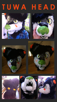 Tuwa fursuit head by ne0nbunny