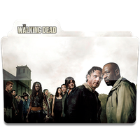 The Walking Dead Folder Icon Season 6 .2 by HeisenbergLeao
