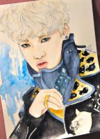(Art trade) B.A.P Zelo by TheCorinna