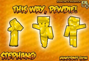 STEPHANO MINECRAFT SKIN by TheIronDragonBrigade