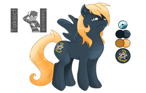 MLP: Reference TaksiSado by Blumestien