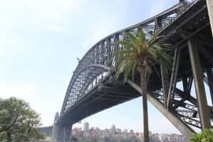 Sydney Harbour Bridge by Vampire-Fish