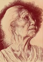 Old Lady by rubinenauge