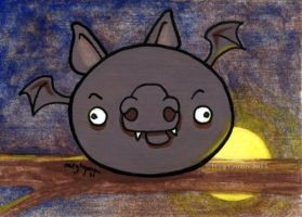 Angry Derp Bat by MegLyman