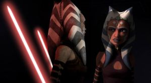 Ahsoka Tano: Seeing Your Darker Side by DiamondLegacy