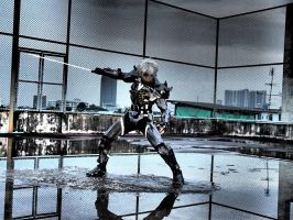Raiden [Metal gear rising revengeance] by Villageshope