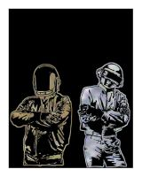 Daft Punk by PRNT