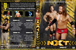 WWE NXT November 2012 DVD Cover by Chirantha