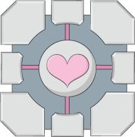 Weighted Companion Cube by Tidusvssora