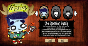 Dont Starve Mosley The Guide by sixteen6stars