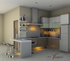 SMALL PANTRY VIEW 2, JAKARTA by TANKQ77