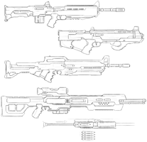 Gun Concepts V by JxAir