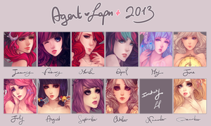 2013 Summary of Art by agent-lapin