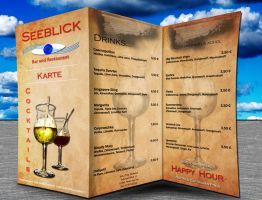 Drink Menu by gargamelix