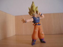 goku final en plastilina by fsalkatras
