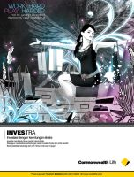 Investra female print  design by ronaldesign