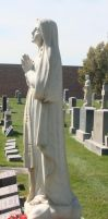 Mount Olivet Cemetery Mary 33 by Falln-Stock