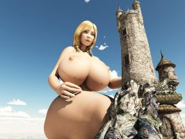 Vue giantess 40: Where is the mage? by nyom87