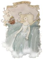 Den Lille Havfrue (The Little Mermaid) by Maryanneleslie