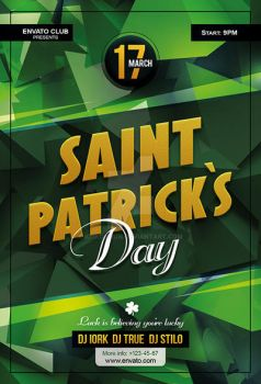 St Patrick`s Day Flyer by iorkdesign