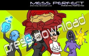 Mess Perfect WALLPAPER 02 by Epantiras
