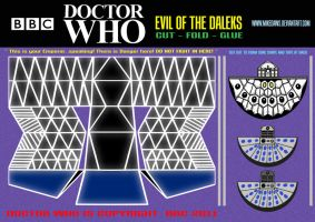 Doctor Who - Evil of the Daleks by mikedaws