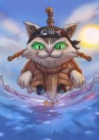 -- Boss Challenge -- Cat Battleship MK 1 by sarrus