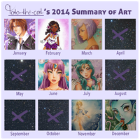 2014 Art Summary Meme by Toto-the-cat