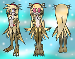Seaia Kechi Ref Sheet -Kyomi (Swapped by Switzer) by SelTheQueenSeaia