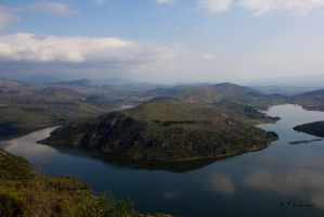 the landscape from Pergamon by Sockrattes