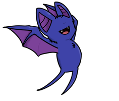 Zubat by ImagineitSplotched