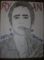 Ryan Gosling for Caitlin by LCMorganTDA