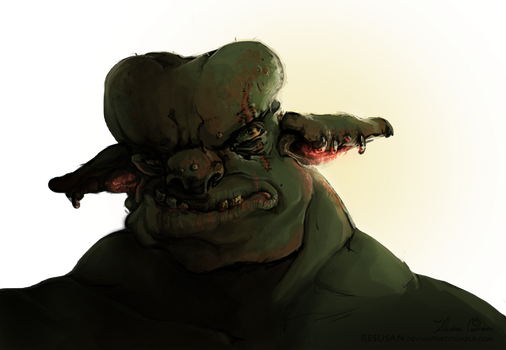Orc by Resusan