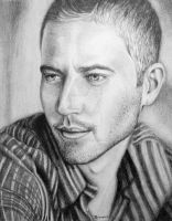 Paul Walker by skepticmeek