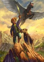 Tim and the children of Cornucopia by curlyhair