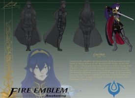 Lucina Character Resign assignment by Airadelle