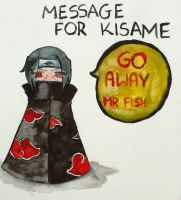 Message for Kisame by agusiasta