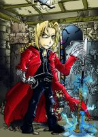 FMA-Edward Elric-COLORS by foolyguy