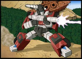 G1 Sideswipe colors by BDixonarts
