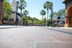 Duck's View Down Buena Vista Street by Anime-Ray