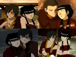 Mai and Zuko by MadameDesReves