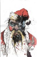 angry claus color by AzurekStudios