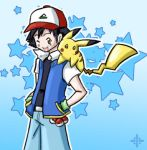 Ash and Pikachu by Angel-soma